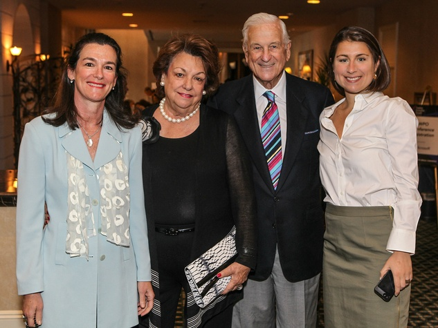 Leslie Diers, Cynthia Melnick, Lester Melnick, Claire Albert, National Day of Prayer Luncheon