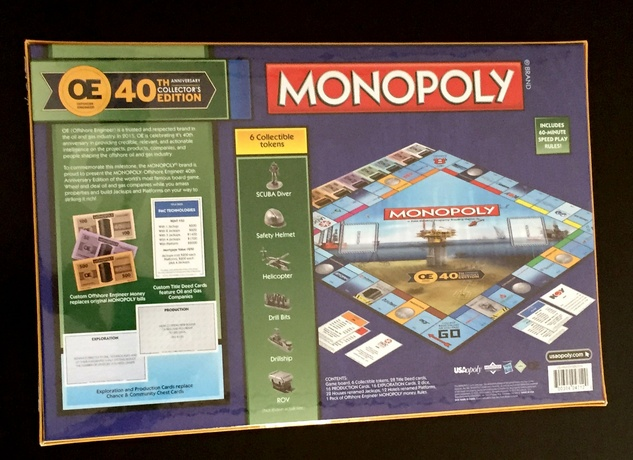 Houston, News, Marcy, OTC Monopoly back of board