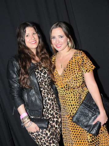 2 Ally Shell, left, and Michelle Reyna de Taussig at Diverseworks' Fashion Fete