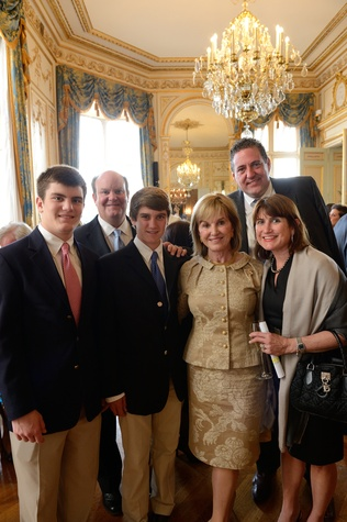 News, Shelby, Paris, Tres Page, Phillip Page, Benner Page, Donna Chapman, Joe Kurka and Laurel Page, July 2014