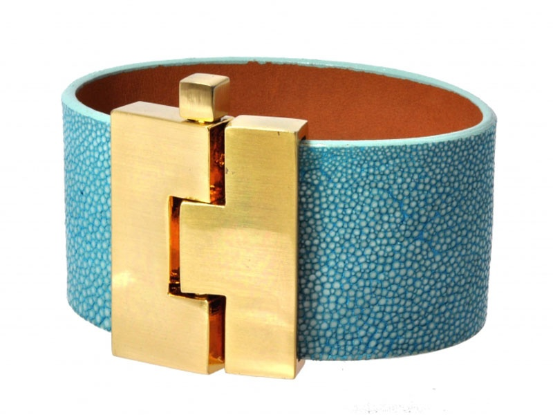museum gift shops, gift guide, December 2012, HMNS, Leigh Lena stingray cuff, bracelet