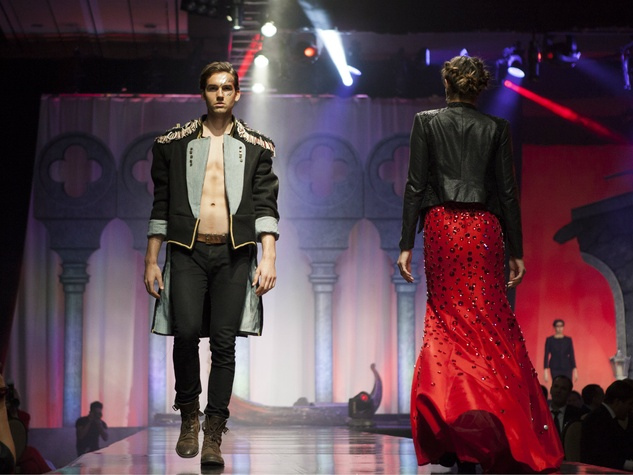 Runway show at House of DIFFA 2014
