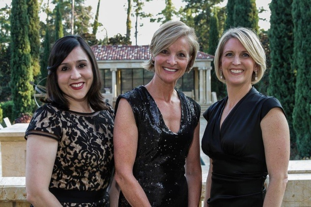 3 Cristina Espinosa Rodriguez from left, Dana Tyson and Michol Ecklund at the AVDA Home Safe Home event October 2014