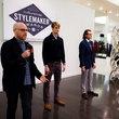 Matt Alexander and his models at 2014 CultureMap Stylemaker Awards