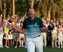 Sergio Garcia Masters golf tournament winner