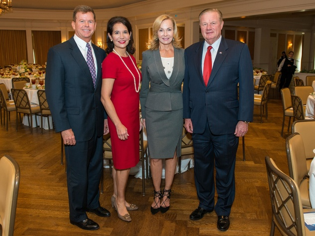 Mission to Mars luncheon 9/16, Harvin Moore, Janet Moore, Alice Mosing, Keith Mosing