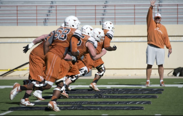 Austin Photo Set: trey_football_ut longhorns_spring_march 2013_1