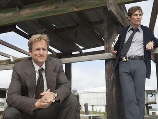 Woody Harrelson and Matthew McConaughey star in HBO's series True Detective.