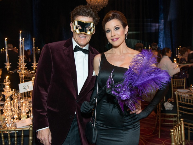 22 Nick Florescu and Dominique Sachse at the Houston Ballet Ball February 2015