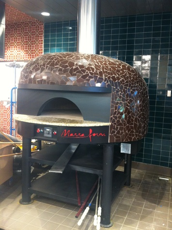 Whole Foods Market Champions brick oven