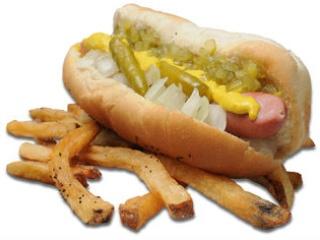 Al's #1 Italian Beef hot dog