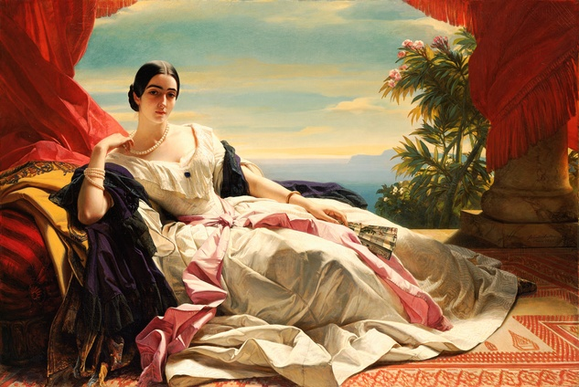 Winterhalter - Princess Leonilla of Sayn-Wittgenstein