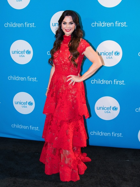 D'Andra Simmons, Unicef Gala 2018