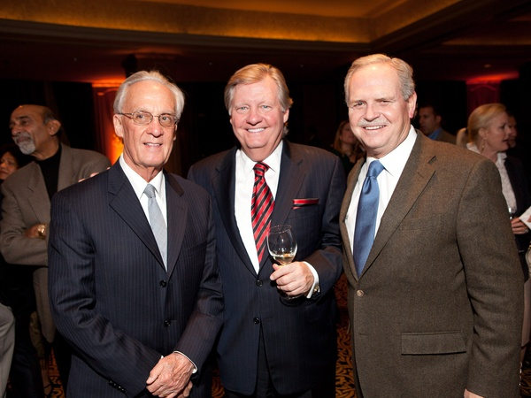 Tiger Ball kickoff party, January 2013, Peter Brown, Jimmy Robertson, Jim Furr