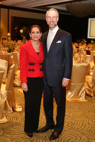Holocaust Museum Courage Award Dinner, May 2015, Gail and Dr. Milton Klein