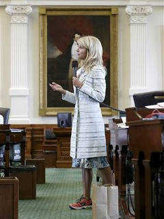 Wendy davis shoes1