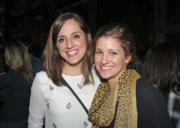 13 Megan Coody, left, and Rivers Rice at the Preservation Houston Young Professionals party November 2013