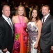 Tom and Rachel Regan, from left, Lisa Oren and Travis Andrews at the JDRF Gala April 2014