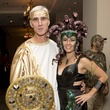 Jeff and Francesca London at The Bash A Halloween Happening October 2014