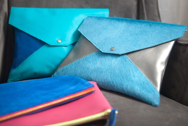 envelope clutch, ModMade Goods