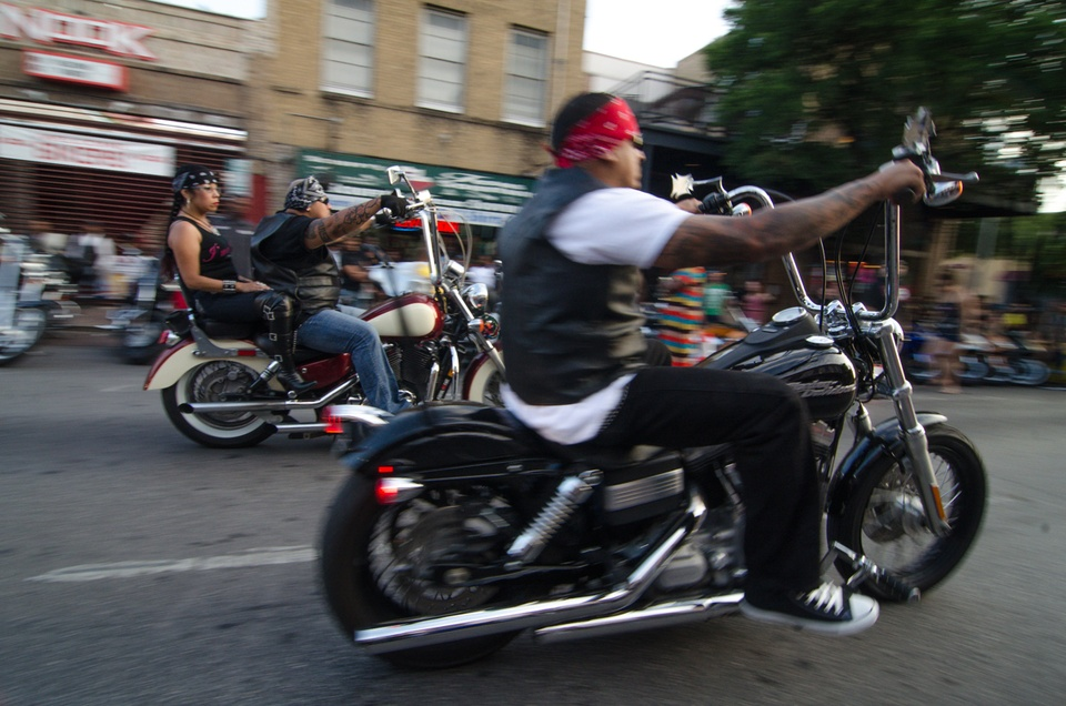 Bikers rumble at the R.O.T. Rally - Collective Vision