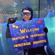 2012 Mayor's Hispanic Heritage Awards Ceremony, October 2012, by Vicky Pink, scuba diver, Downtown Aquarium
