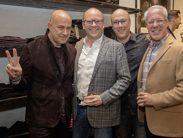 John Varvatos at book signing