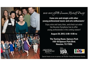 Houston Symphony's Young Professionals Backstage Kickoff Party