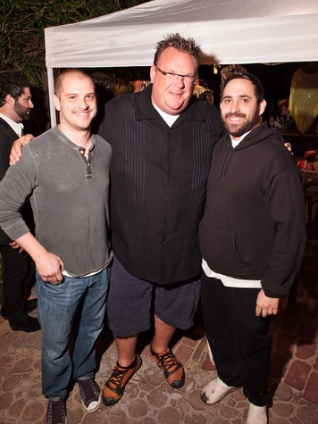 11, Connor Barwin farewell party, April 2013, Ryan Lachaine, Chris Shepherd, Lyle Bento