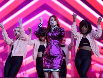Girl power: Meghan Trainor thrills audience with songs of empowerment