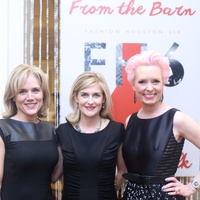 Paige Glass, from left, Courtney Zennet and Vivian Wise at the Sire Under the Stars event March 2015