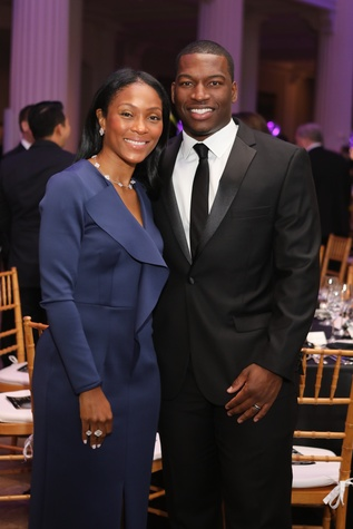 Shamika and Melvin Johnson at Stages Gala 2017