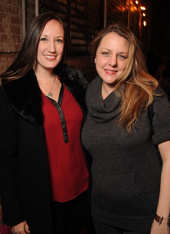 4 Allison Lott, left, and Kathryn Lott at the CounterCurrent Kickoff Party March 2015