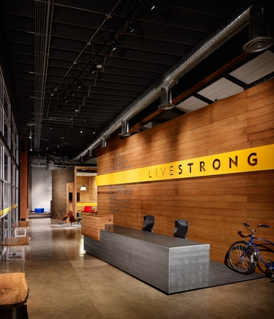 Austin Photo Set: News_Caitlin_Livestrong headquarters_feb 2012_entrance