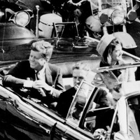 JFK assassination couple in car