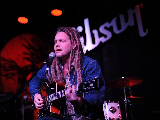 Ben Kweller at Gibson in Austin 1284