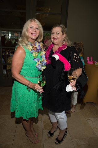 6 Katie Harrison, left, and Katrina Arnim at the Flock and Flamingle event September 2014