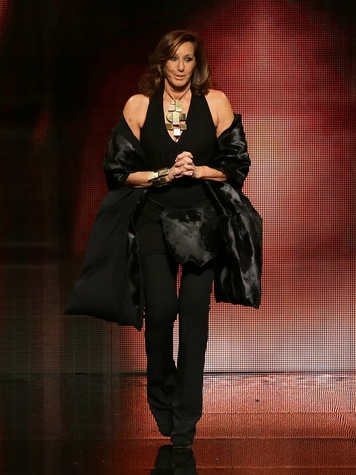 Fashion Week fall 2014 collections Donna Karan on runway
