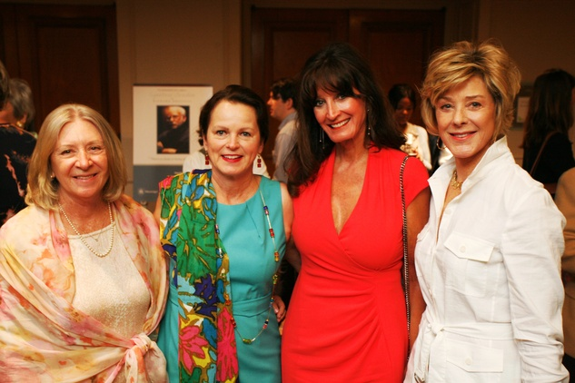 Menninger Luncheon, May 2015, Susan Canfield, Elaine Finger, Colleen Holthouse, Leila Gilbert