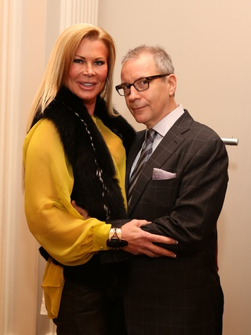 40, Saks Fifth Avenue Donna Karan Ambassadors party, November 2012, Theresa Roemer, Terry Zmyslo