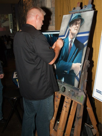 Rob jackson, The Athlete's Artist, taste of the NFL