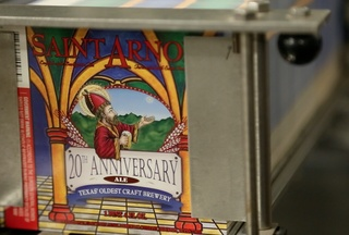Saint Arnold Brewing Company 20th Anniversary Release