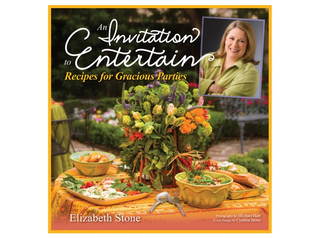 Elizabeth Stone, An Invitation to Entertain, cookbook