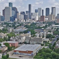 Houston, skyline, downtown, neighborhoods