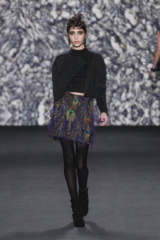 Nicole Miller look 37 fall 2014 collection