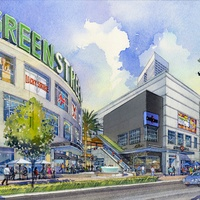 GreenStreet, Houston Pavilions, April 2013, Rendering 4 Caroline