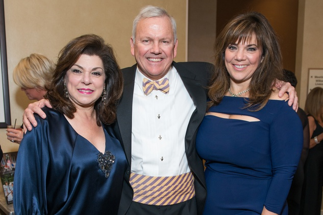40 Laura Ward, from left, with John and Terri Havens at the Houston Children's Charity Gala November 2014