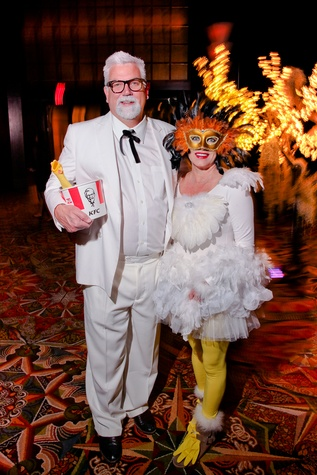 21 Mike and Lynn Plummer at the Ronald McDonald House Houston Boo Ball October 2014