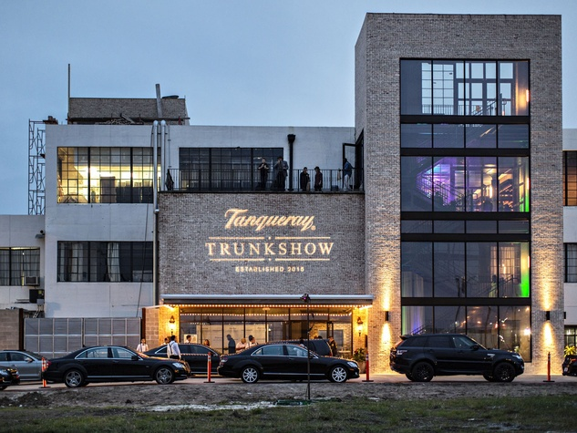 Tanqueray Trunk Show The Astorian exterior