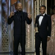 Common and John Legend at the 2015 Golden Globe Awards